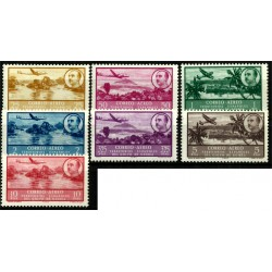 Golfo de Guinea. 1951. Serie Completa. Correo Aéreo