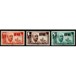 Sidi Ifni. 1950. Serie Completa. Visita del Caudillo