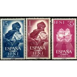 Sidi Ifni. 1962. Serie Completa. Dia del Sello
