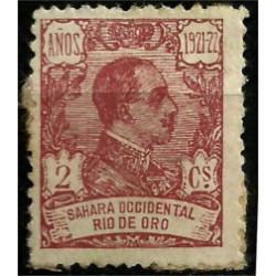 Sahara Español (Colonia de Rio de Oro). 1922-23. 2 Céntimos