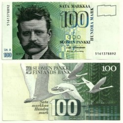 (119) Finlandia. 1986. 100 Markkaa (SC)