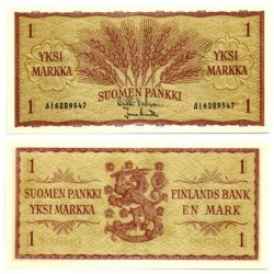 (98) Finlandia. 1963. 1 Markka (SC)