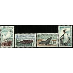 Territorios Australes Franceses. Serie Fauna