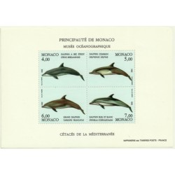 Mónaco. 1992. Hoja Conmemorativa. Museo Oceanográfico