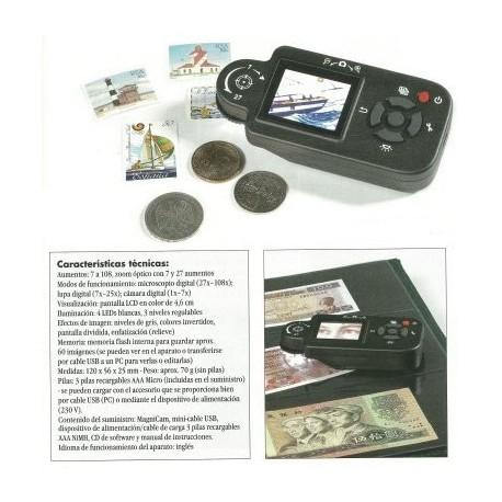Macro-cámara LCD (7 a 108 aumentos)