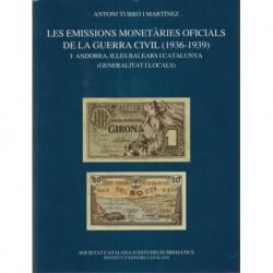 Les Emissions Monetàries Oficials de la Guerra Civil