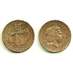 (1051) Gran Bretaña. 2005. 1 Pound (RC+)
