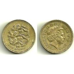 (1030) Gran Bretaña. 2002. 1 Pound (MBC-)