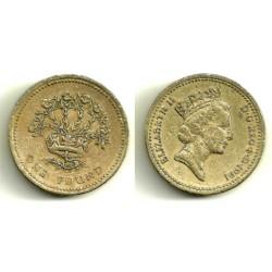 (946) Gran Bretaña. 1991. 1 Pound (RC+)