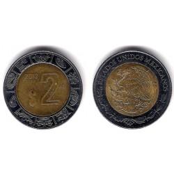 (604) Estados Unidos Mexicano. 2012. 2 Pesos (MBC)