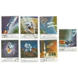 Yemen. Serie Astronáutica. Apollo 13