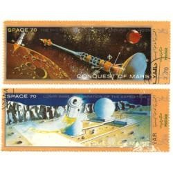 Yemen. Serie Astronáutica. Conquista de Marte