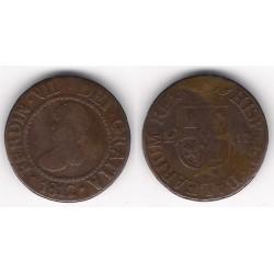 Fernando VII. 1812. 12 Dineros (BC) Ceca de Palma de Mallorca