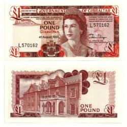 (20e) Gibraltar. 1988. 1 Pound (SC)