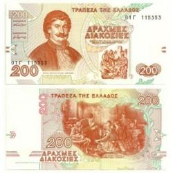 (204) Grecia. 1996. 200 Drachma (SC)