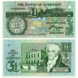 (52b) Guernsey. 1991. 1 Pound (SC)