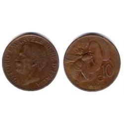 (60) Italia. 1920R. 10 Centesimi (EBC)