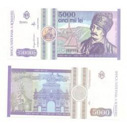 (103) Rumania. 1992. 5000 Lei (SC)