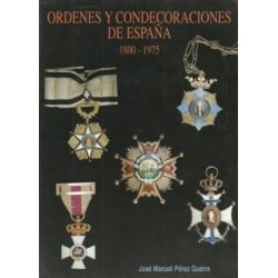 Órdenes y Condecoraciones de España (1800-1975)