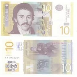 Serbia. 2006. 10 Dinara (SC)