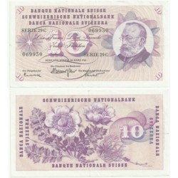 (45.h) Suiza. 1963. 10 Francs (EBC)
