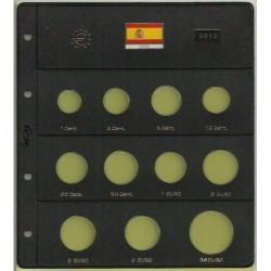 Hojas para Euros 11 Alojamientos (España-2012)