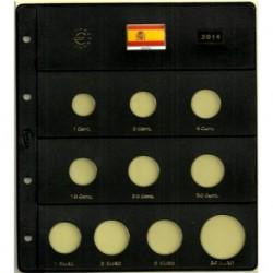 Hoja para Euros 10 Alojamientos (España-2014)