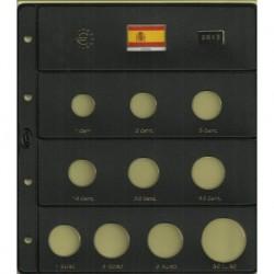 Hoja para Euros 10 Alojamientos (España-2013)