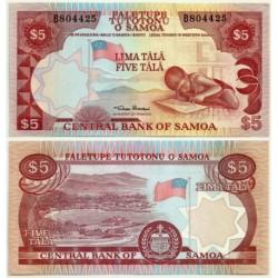 (26) Samoa. 1985. 5 Tala (SC)