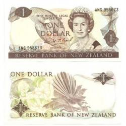 (169c) Nueva Zelanda. 1981-92. 1 Dollar (SC)