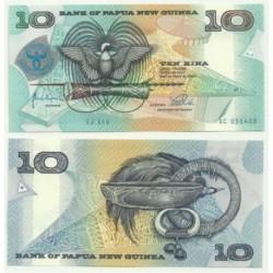 (17) Papúa Nueva Guinea. 1998. 10 Kina (SC)