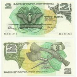 (1) Papúa Nueva Guinea. 1975. 2 Kina (SC)