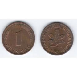 (105) Alemania. 1983(F). 1 Pfennig (MBC)