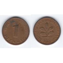 (105) Alemania. 1982(G). 1 Pfennig (MBC)