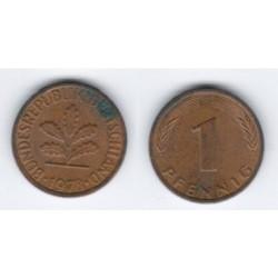 (105) Alemania. 1978(F). 1 Pfennig (MBC)