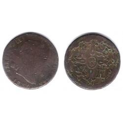 Fernando VII. 1830. 8 Maravedi (RC) Ceca de Segovia