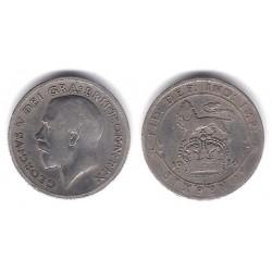 (815) Gran Bretaña. 1914. 6 Pence (MBC-) (Plata)