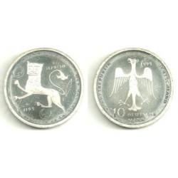 (186) Alemania. 1995(F). 10 Mark (SC) (Plata)