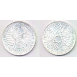 (173) Alemania. 1989(G). 10 Mark (SC) (Plata)