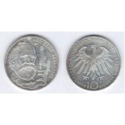 (169) Alemania. 1988(F). 10 Mark (SC) (Plata)