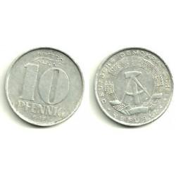 (10) Alemania Democrática. 1968(A). 10 Pfennig (MBC)
