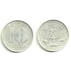 (10) Alemania Democrática. 1971(A). 10 Pfennig (MBC)