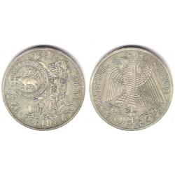 (166) Alemania. 1987. 10 Mark (SC) (Plata)