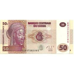 (97A) Congo. 2013. 50 Francs (SC)
