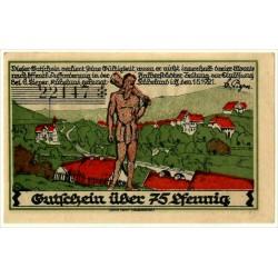 Alemania. Brandeburgo. Rubeland. 1921. 75 Pfennig (SC)