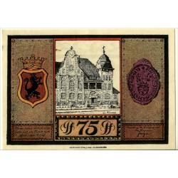 Alemania. Papenburg. 1921. 75 Pfennig (EBC)