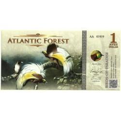 Atlantic Forest. 2015. 1 Aves Dollars (SC)