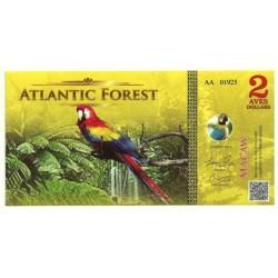 Atlantic Forest. 2015. 2 Aves Dollars (SC)