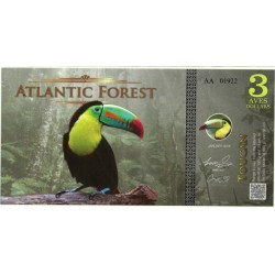 Atlantic Forest. 2015. 3 Aves Dollars (SC)
