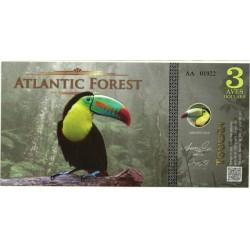 Atlantic Forest. 2015. 3 Aves Dollars (SC)